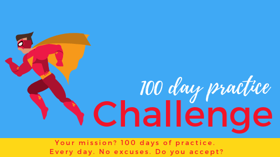 100 Day Practice Challenge for Super Students